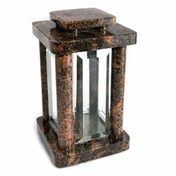 Hochwertige Grablampe Monument aus echtem Granit Aurora...