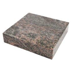 Rechteckiger Granitsockel Granit Paradiso 20 cm x 20 cm x...